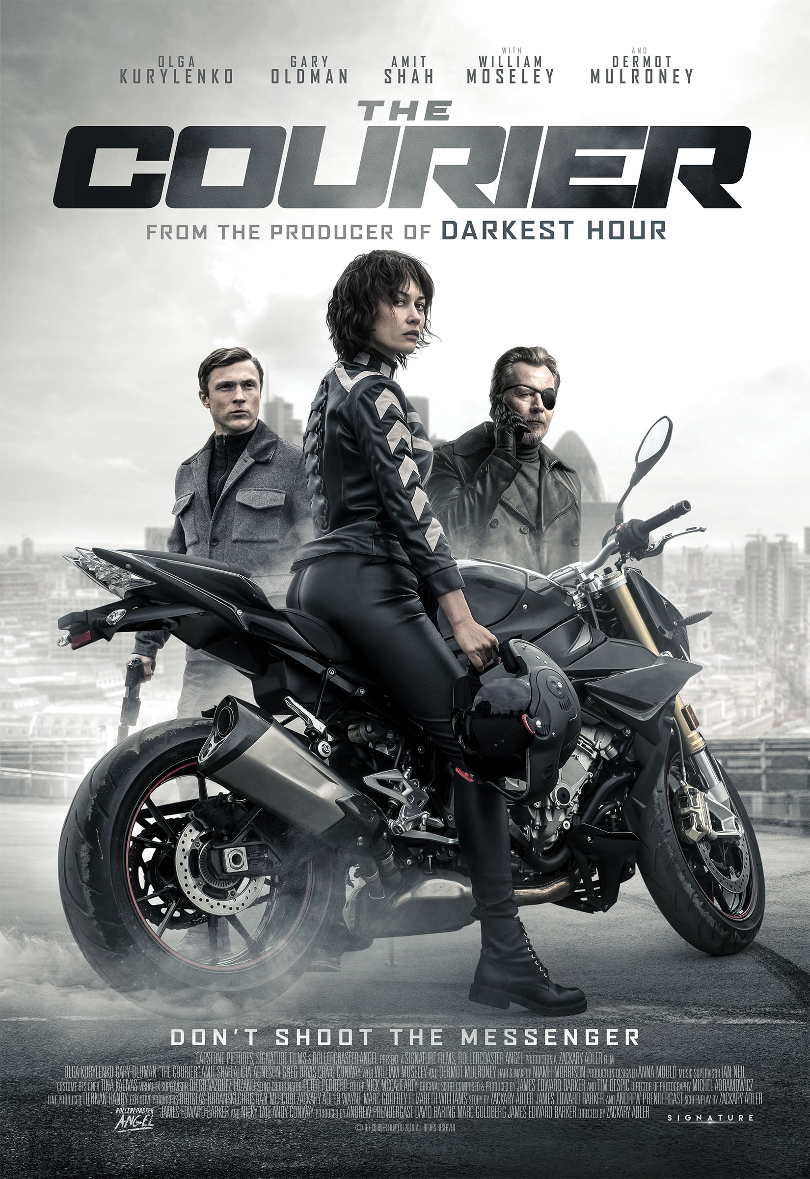 The Courier | DVD | Free shipping over £20 | HMV Store